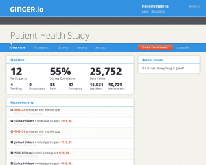 behavior data, Ginger.io: Bringing Behavior Data to the Medical Record