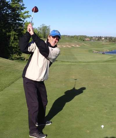 Strength training and good posture will keep you swinging on the golf course for many years