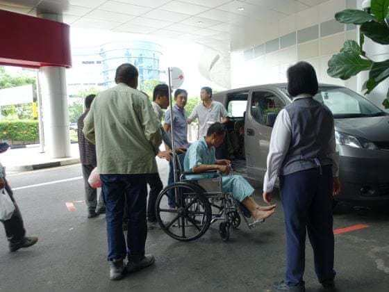 4 workers warded after early morning Tuas accident involving 2 lorries