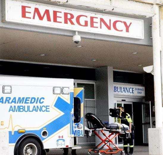Fat Canadians put strain on paramedics