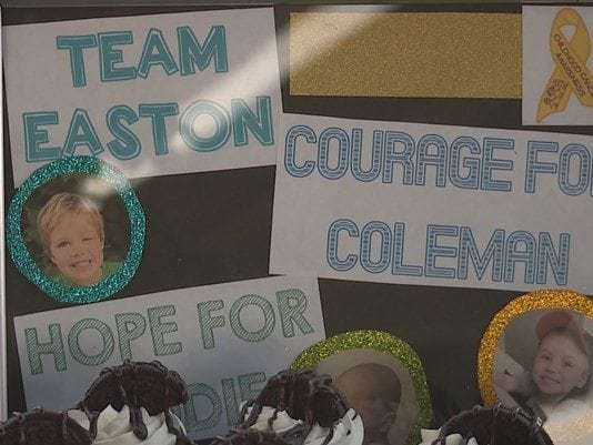 Local families fighting childhood cancer team up to raise awareness, money
