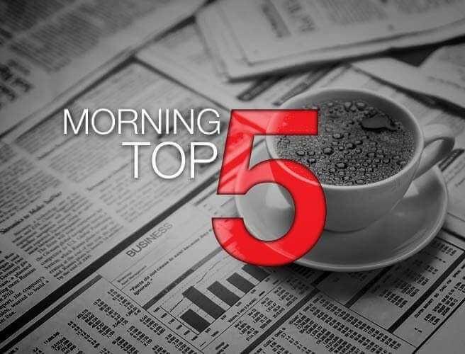 Morning Top 5: Man Shot In Dublin; Trump Threatens Iran Deal; Fianna Fáil Forbid Sinn Fein Coalition